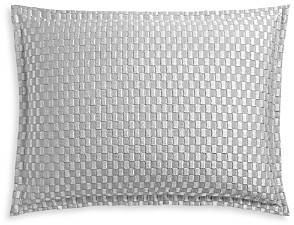 Hudson Park Collection Luxe Block Matelasse Quilted Standard Sham - 100% Exclusive