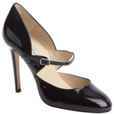 Charles by Charles David Black patent leather 'Valencia' mary jane pumps