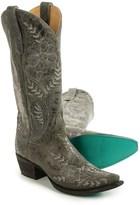 "Lane Boots Ashlee Lace Cowboy Boots - 13"", Snip Toe (For Women)"