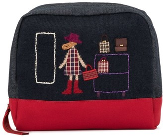 Familiar Knitted Accessories Clutch Bag
