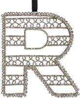 Wire Letter Ornament, R