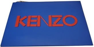 Kenzo Blue Leather Bags