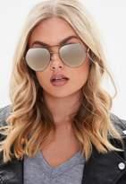 Missguided Black Aviator Sunglasses