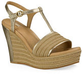 UGG Fitchie Metallic Espadrille Leather Sandals