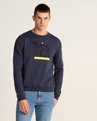 Le Mont St Michel Tres Bien Long Sleeve Sweatshirt