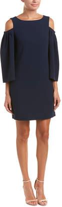Trina Turk Kaipo Cold-Shoulder Shift Dress
