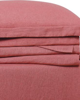 Brooklyn Loom Linen Dusty Rose Sheet Set Sheet Set