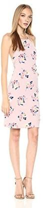 Sugar Lips Sugarlips Women's Floral Print Bodycon Dress