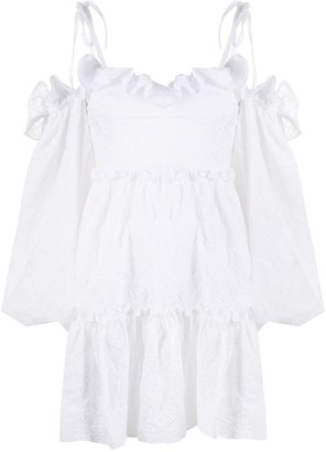Wandering Ruffle Trimmed Blouse