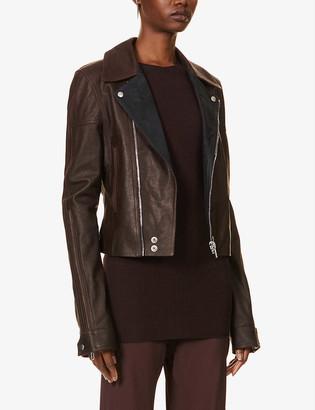 Rick Owens Dracu leather jacket