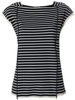 3.1 Phillip Lim Striped side-tie t-shirt