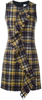 MSGM Front Ruffle Sleeveless Dress