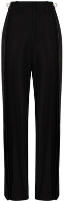 we11done Panelled Wide-Leg Trousers