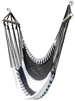 Swinging Hammock Lounger - Black/White - WholeStory Hammocks