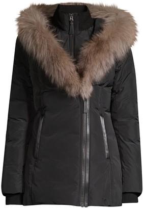Mackage Adali-X Fox Fur Collar Down Coat