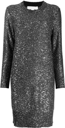 MICHAEL Michael Kors Sequined Knit Mini Dress