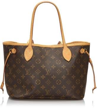 Louis Vuitton Brown Monogram Neverfull Pm