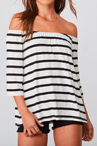 BB Dakota Geri Stripe Top