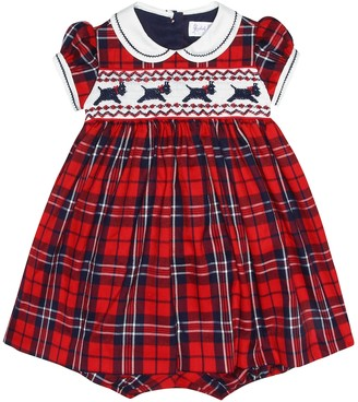 Rachel Riley Baby checked dress