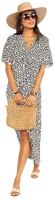 Show Me Your Mumu Get Twisted Maxi Dress (Wilma Wildcat) Women's Dress
