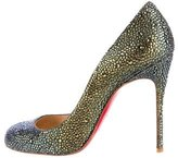 Christian Louboutin Fifi Strass Pumps