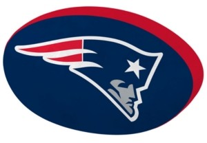 Northwest Company New England Patriots 15inch Cloud Pillow