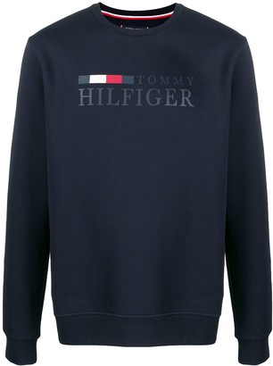 Tommy Hilfiger printed logo sweatshirt