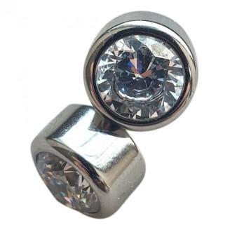 Michael Kors Silver Steel Earrings