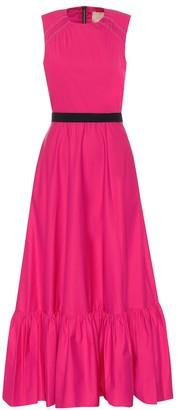 Roksanda Blaise cotton-poplin maxi dress
