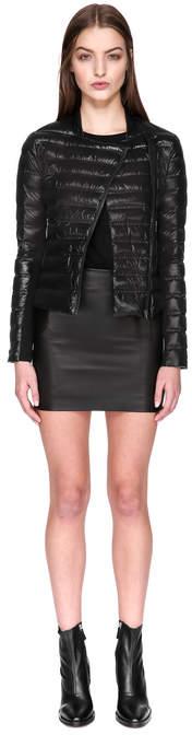 Mackage ULANA Lightweight down jacket with asymmetrical zipper
