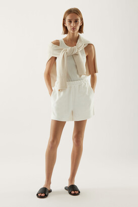Cos Organic Cotton Towelling Shorts