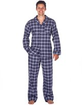 Noble Mount Men's Premium Flannel Pajama Set - XL