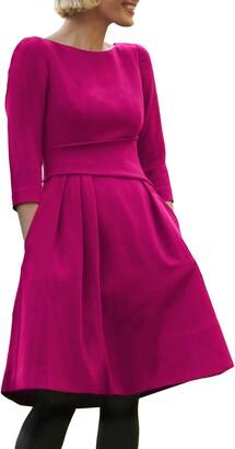 Harper Rose Waist Detail Fit & Flare Dress
