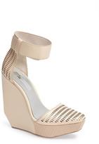 BCBGMAXAZRIA 'Austin' Ankle Strap Wedge Sandal