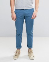 Farah Elm Slim Fit Chino in Blue