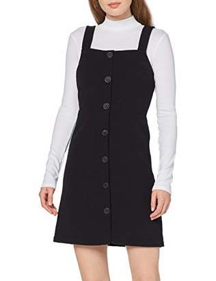 New Look Women's Crepe Fitted Pinny Dress,(Size:)