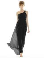 Alfred Sung D691 Bridesmaid Dress in Black