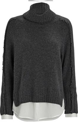 Brochu Walker Jolie Layered Looker Turtleneck Sweater