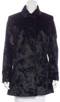 Dolce & Gabbana Textured A-Line Coat