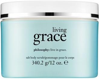 philosophy salt body scrub, 12 oz