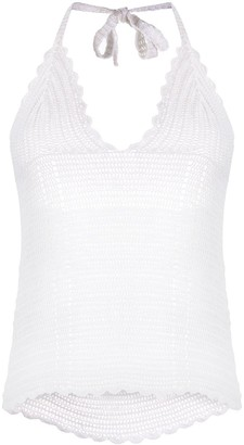 IRO Knitted Crochet Top