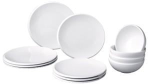 Villeroy & Boch New Moon 12 Piece Dinnerware Set, Service For 4