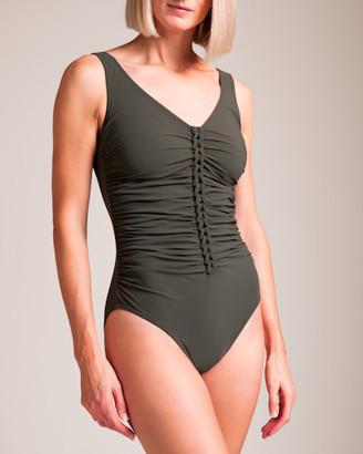 Karla Colletto Joanna V-Tank U-Wire Swimsuit
