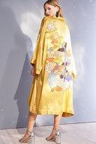 Kimchi & Blue Kimchi Blue Embroidered Satin Kimono Jacket