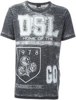 Diesel washed effect T-shirt