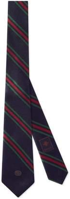 Gucci Silk tie with Interlocking G