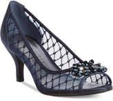 Karen Scott Maralyn Peep-Toe Evening Pumps, Only at Macy's Women's Shoes