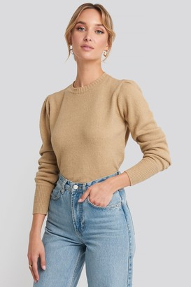 NA-KD Puff Sleeve Sweater