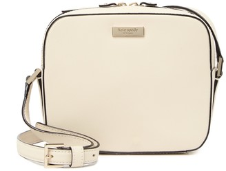 Kate Spade leather cammie crosshatched crossbody