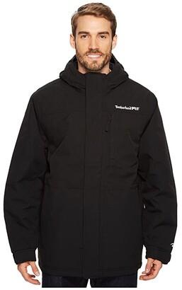 Timberland Split System Insulated Waterproof Jacket (Jet Black) Men's Coat
